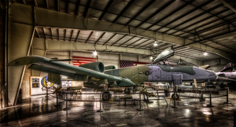 "The A-10 ""Thunderbolt II"" named after the P-47 but affectionately nicknamed the Warthog due to it's less than supermodel styling..."