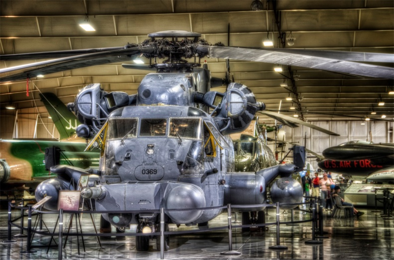 The mighty CH-53 Pavelow