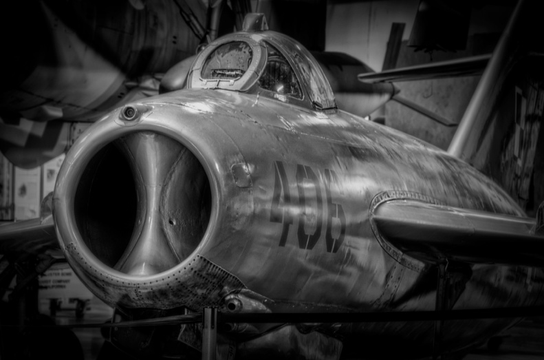 MiG-15 close up